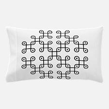 Funny Crop circles Pillow Case