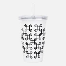 Unique Crop circles Acrylic Double-wall Tumbler