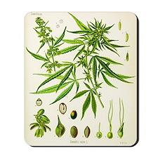 Cannabis Sativa Mousepad