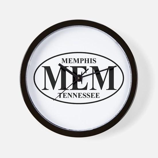 MEM Memphis Wall Clock