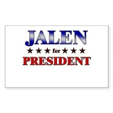 JALEN for president Rectangle Decal