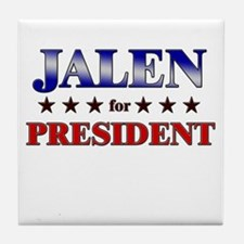 JALEN for president Tile Coaster