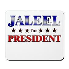 JALEEL for president Mousepad