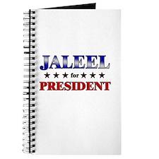JALEEL for president Journal