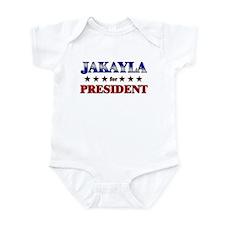 JAKAYLA for president Infant Bodysuit