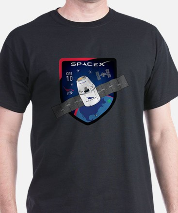 CRS-10 Flight Logo T-Shirt