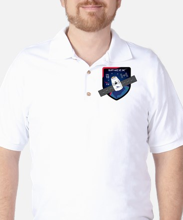 CRS-10 Flight Logo Golf Shirt
