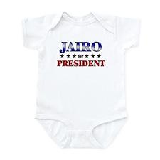 JAIRO for president Infant Bodysuit