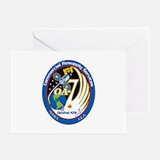 CRS-9 Flight Logo Greeting Cards (Pk of 10)