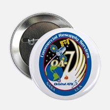 "Cygnus CRS OA-7 2.25"" Button"