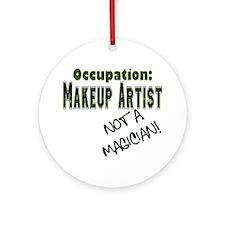 Occupation MA Ornament (Round)