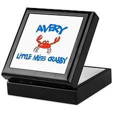 Avery - Little Miss Crabby Keepsake Box