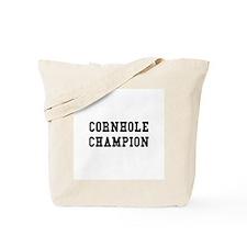 Cornhole Champion Tote Bag
