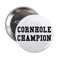 "Cornhole Champion 2.25"" Button (10 pack)"
