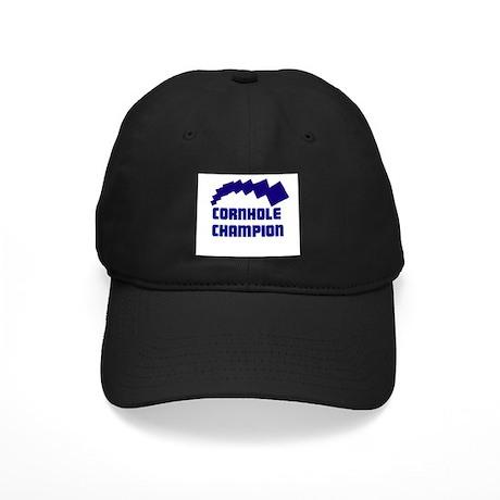 Cornhole Champion Black Cap