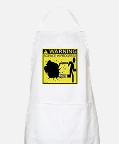 Science In Progress (yellow) BBQ Apron