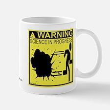 Science In Progress (yellow) Mug