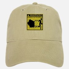 Science In Progress (yellow) Baseball Baseball Cap