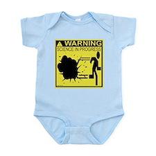 Science In Progress (yellow) Infant Bodysuit