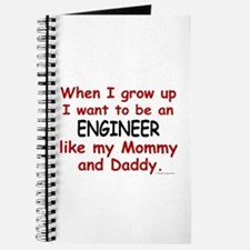 Engineer (Like Mommy & Daddy) Journal