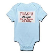 Engineer (Like Mommy & Daddy) Infant Bodysuit