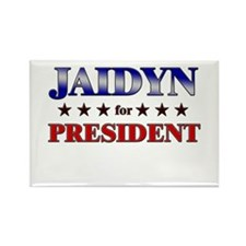JAIDYN for president Rectangle Magnet
