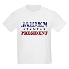 JAIDEN for president T-Shirt