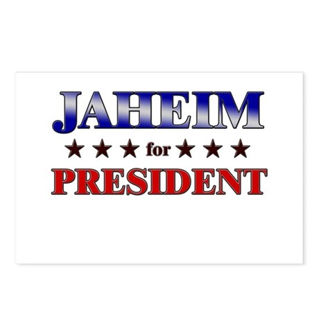 JAHEIM for president Postcards (Package of 8)