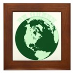 Be Green Framed Tile