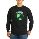 Be Green Long Sleeve Dark T-Shirt