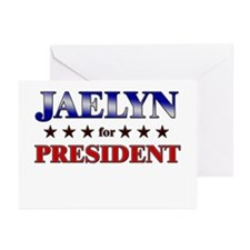 JAELYN for president Greeting Cards (Pk of 10)