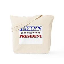 JAELYN for president Tote Bag
