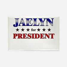 JAELYN for president Rectangle Magnet