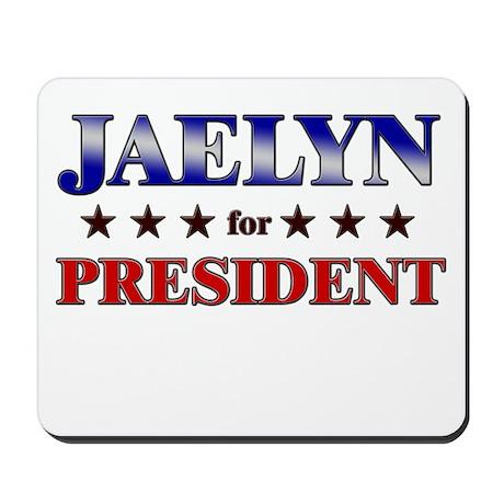 JAELYN for president Mousepad