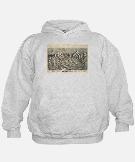 Vintage Map of The White Mountains (18 Hoody