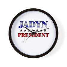 JADYN for president Wall Clock