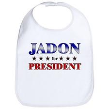 JADON for president Bib