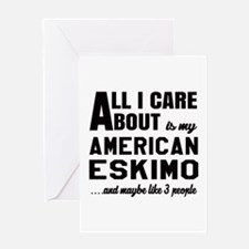 All I care about is my Toy American Greeting Card