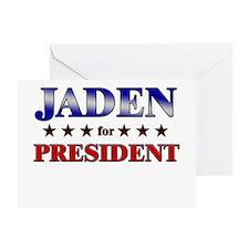 JADEN for president Greeting Card