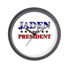 JADEN for president Wall Clock