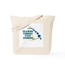 Delaware Cornhole State Champ Tote Bag