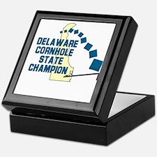 Delaware Cornhole State Champ Keepsake Box