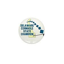 Delaware Cornhole State Champ Mini Button (10 pack