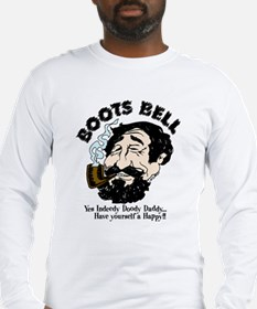 Boots Bell Color Long Sleeve T-Shirt