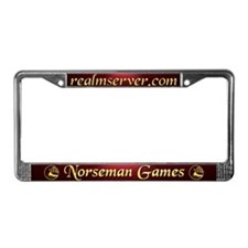 Norseman License Frame (Red)