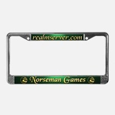 Norseman License Frame (Green)