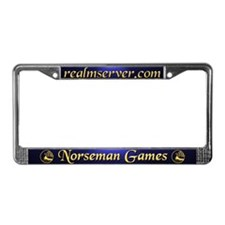 Norseman License Frame (Blue)