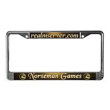 Norseman License Frame (Chocolate)