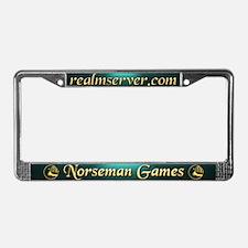 Norseman License Frame (Aqua)