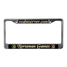 Norseman License Frame (Black)